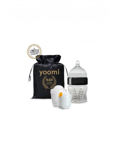 Zestaw Gold&Black z butelką, podgrzewaczem i kapsułą 140ml