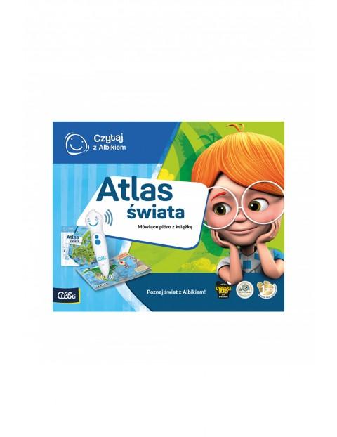 Czytaj z Albikiem - Zestaw pióro + Atlas świata
