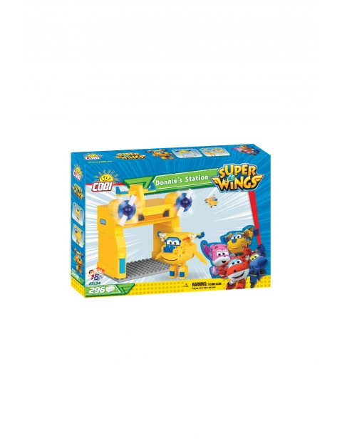 Klocki Cobi Super Wings Donnie's Station 296el