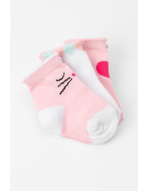 Skarpety niemowlęce 3pak 5V3613