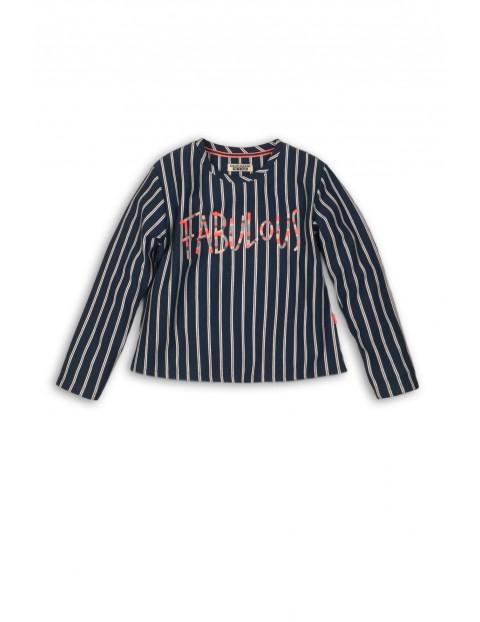 Bluza dziewczęca w paski