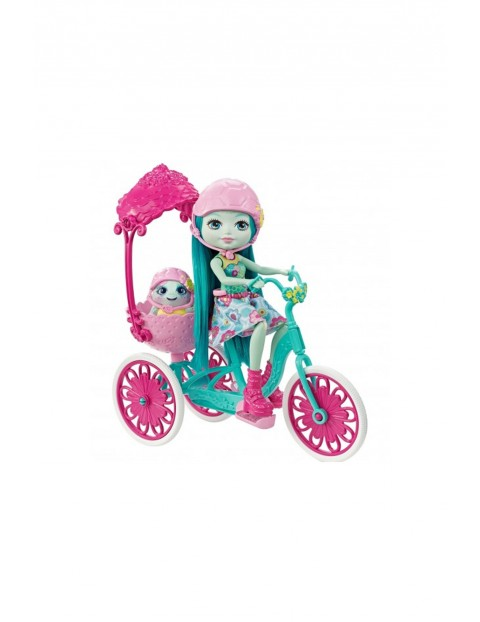 Enchantimals lalka z rowerem 3Y33HW