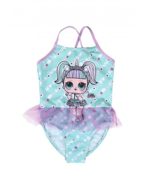 Strój kąpielowy dziewczęcy jednoczęściowy LOL Surprise