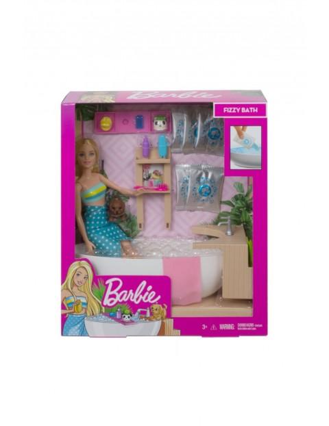 Barbie - Zestaw Relaks w kąpieli Lalka z pieskiem i akcesoria wiek 3+