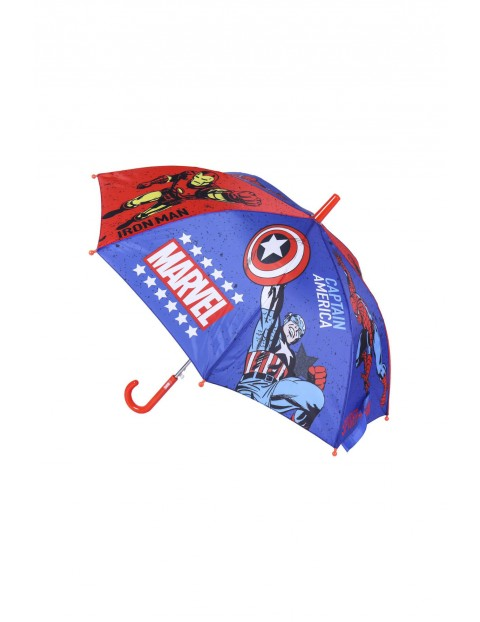 Parasol Marvel - niebieska