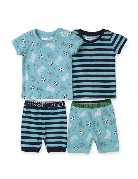 Piżama niemowlęca z krótkim rękawem  2-pak