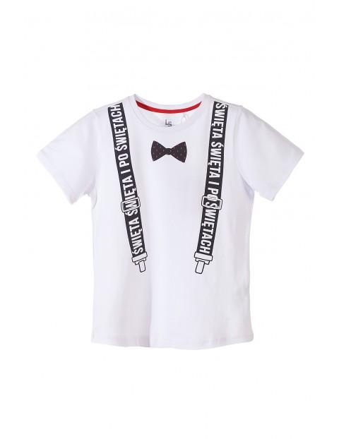 T-shirt świąteczny dla chłopca 2I3521