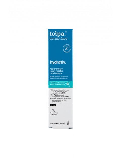 Tołpa dermo face hydrativ Hialuronowy krem-maska nawilżający 40 ml