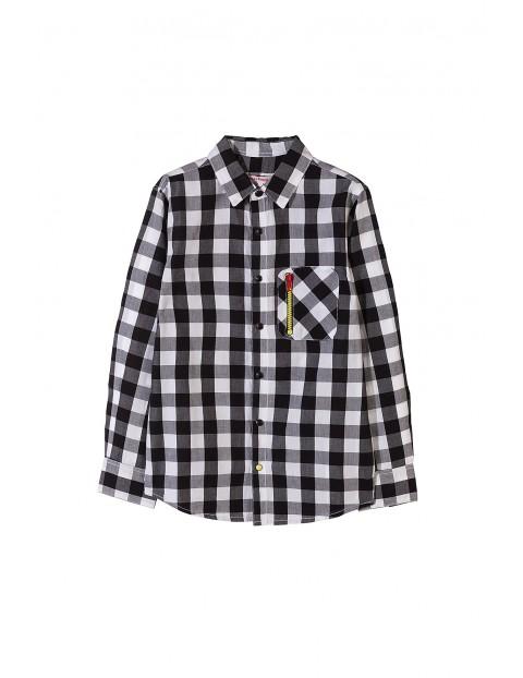 Koszula chłopięca w kratę