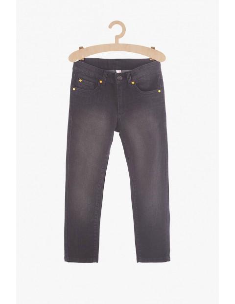 Spodnie chłopięce jeansowe- czarne