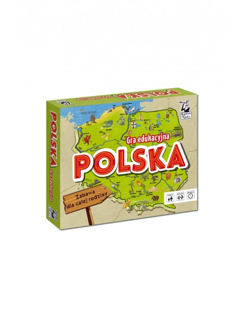 Gra edukacyjna Polska 1Y35E9