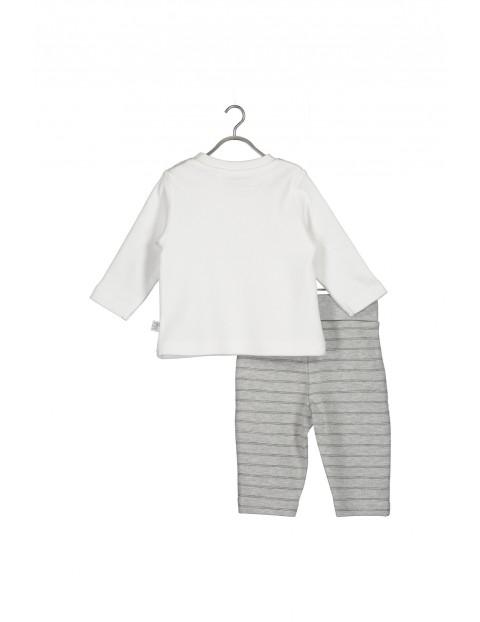 Komplet niemowlęcy- bluzka i spodnie