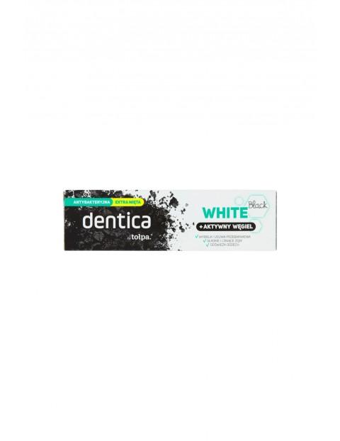 Dentica by tołpa pasta do zębów z aktywnym węglem - black white 75 ml