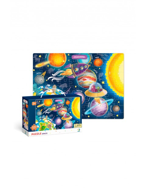 Puzzle Kosmos- 100 elementów