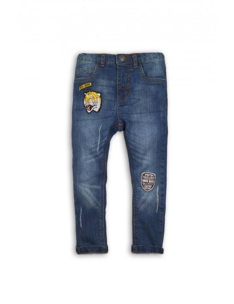 Spodnie chłopięce jeansowe 1L34A6