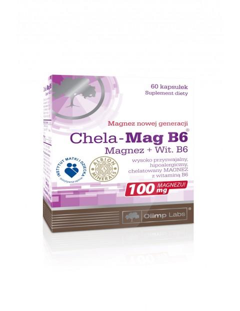 Chela-Mag B6 60 kapsułek  TOP