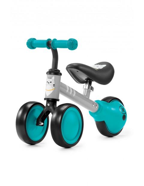 Mini rowerek biegowy CUTIE Kinderkraft turkusowy-12msc+