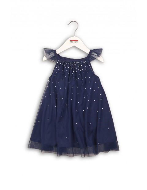 Sukienka dziewczęca tiulowa 3K35AM