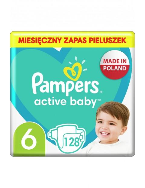 Pampers Active Baby, rozmiar6, 128pieluszek, 13-18kg