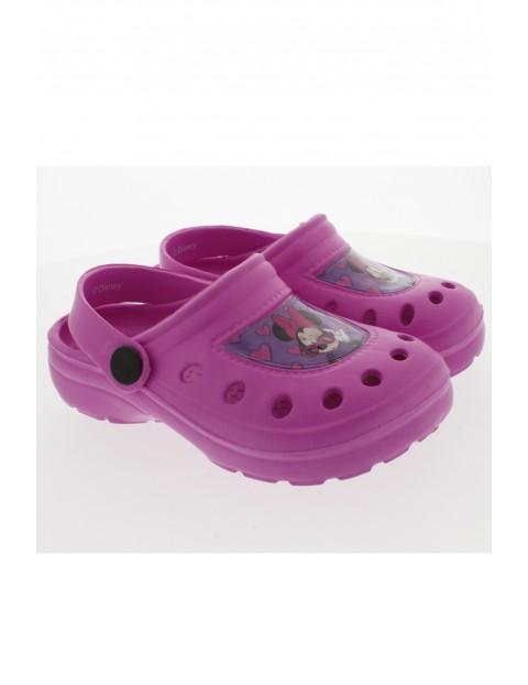 Sandały dziewczęce Myszka Minnie - różowe