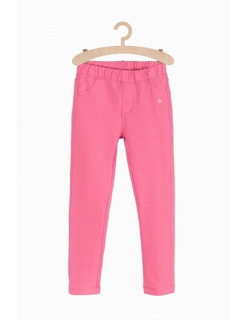 Różose spodnie dla dziewczynki