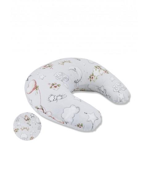 Bawełniana poduszka do karmienia 155cm obwód - Kolorowe sny