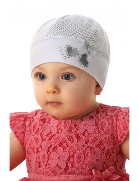 Czapka niemowlęca 100% bawełna