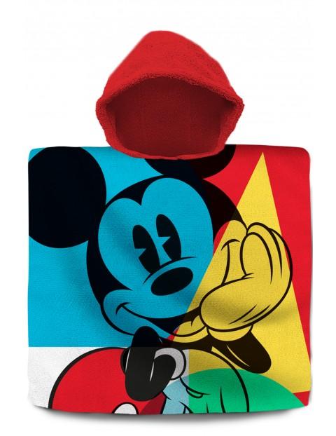 Myszka Mickey poncho kąpielowe z kapturem 120x60 cm