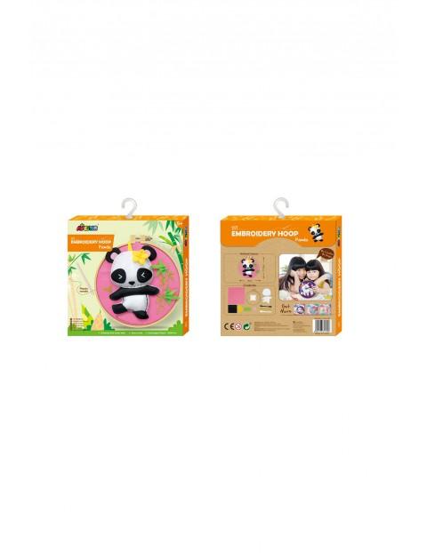 Obręcz do haftowania - Panda wiek 5+