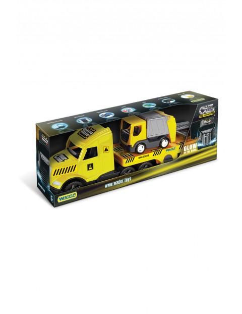 Magic Truck Technic laweta ze śmieciarką 3+
