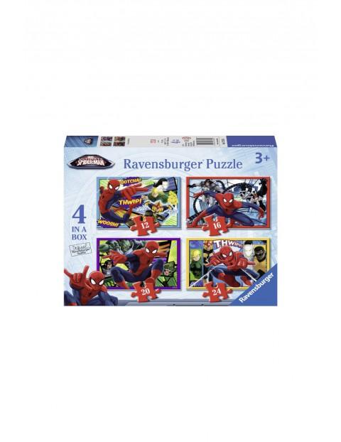Puzzle Ostateczny Spider Man - 12/16/20/24 elementów wiek 3+