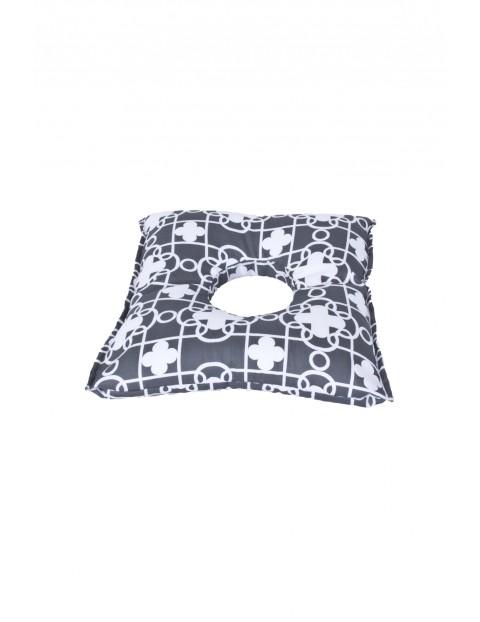 Poduszka poporodowa – pozycjonująca oponka- szara 50x45cm