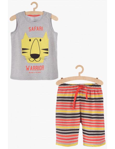 Pidżama chłopięca z tygrysem Safari