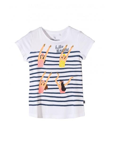 Koszulka dziewczęca z krótkim rękawem