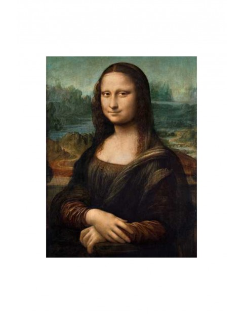 Puzzle Clementoni Museum Leonardo Mona Liza - 1000 elementów
