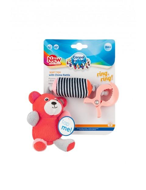 Pluszowa zabawka z dzwoneczkiem-Canpol pierwsza zabawka