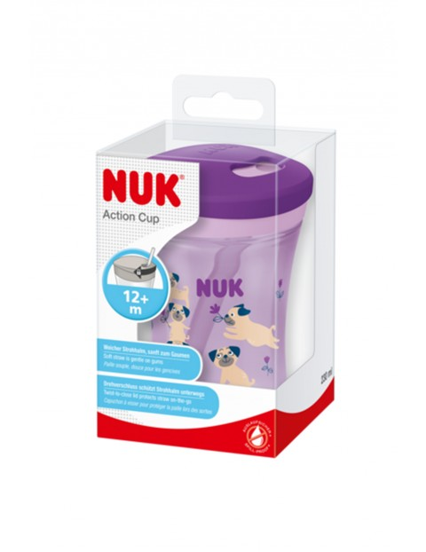 NUK Kubek niekapek EVOLUTION ACTION CUP 220ml 12msc+