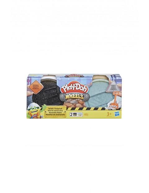 PlayDoh ciastolina Wheels Tuby budowlane