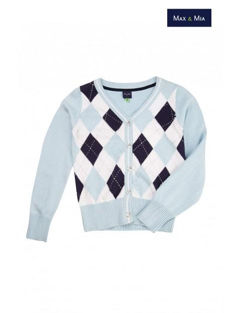 Sweter dziewczęcy 4C2917