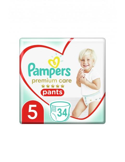 Pampers Premium Care Pieluchomajtki rozmiar5, 34szt. 12-17kg