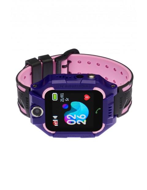 Smartwatch Garett Kids Play z lokalizatorem GPS fioletowy