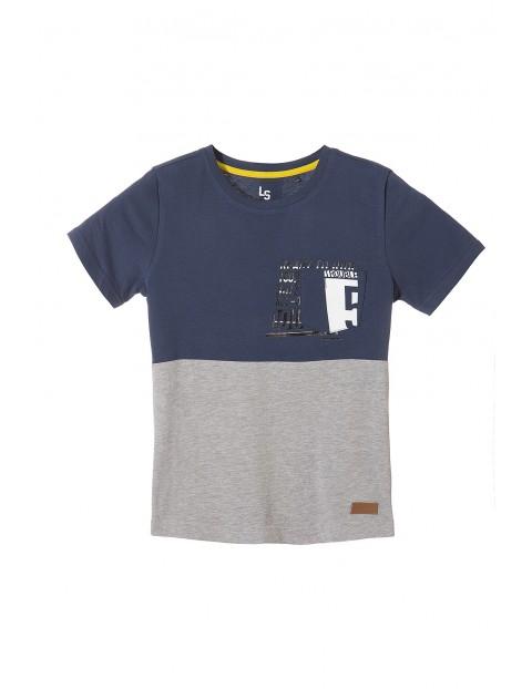 Koszulka chłopięca dzianinowa 2I3524