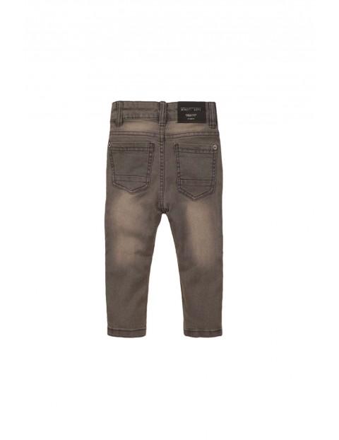 Spodnie niemowlęce jeansowe- szare