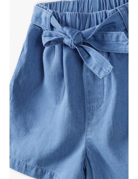 Szorty dziewczęce - niebieskie