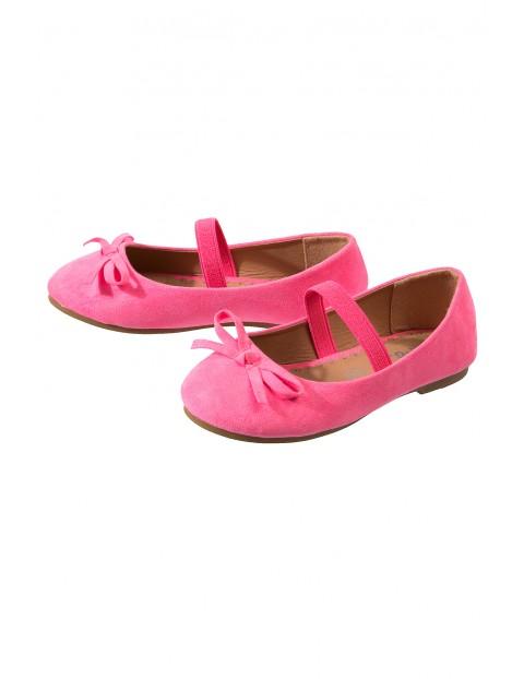 Baleriny dziewczęce różowe 3Z3405