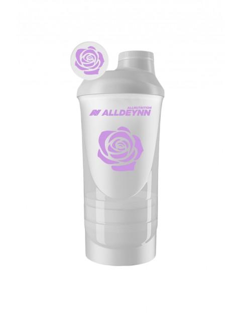 Allnutrition ALLDEYNN  Plastic Smart Shaker 600ml - biały