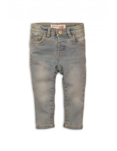 Spodnie jeansowe dziewczęce jasne
