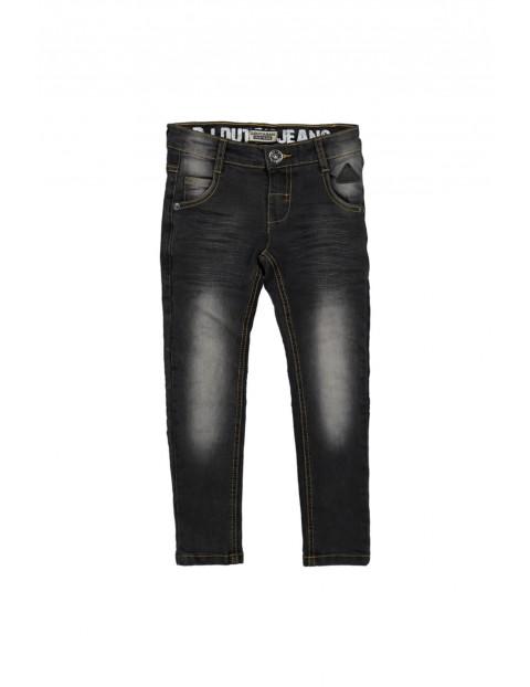 Spodnie chłopięce jeansowe 1L35A3