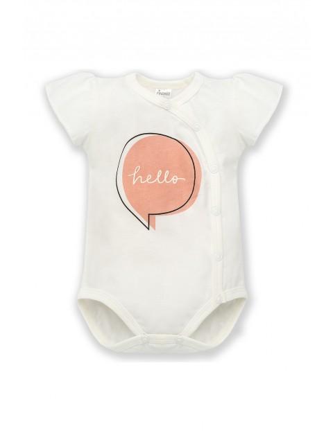 Body niemowlęce kopertowe- bawełniane