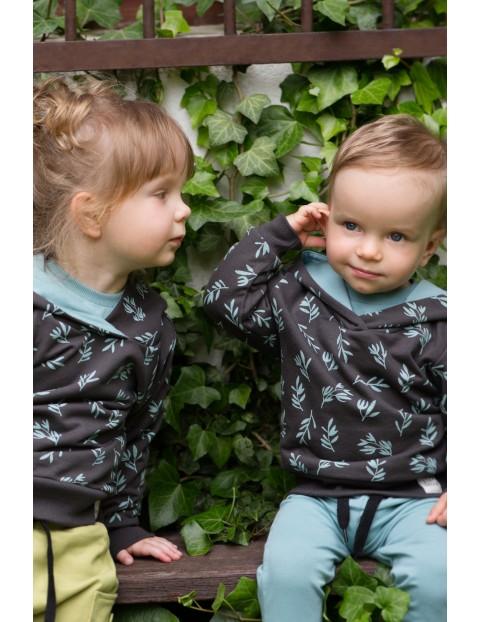 Bluza dresowa - STAY GREEN